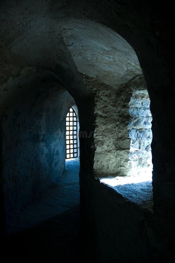 Corridoio della fortezza   immagini stock libere da diritti