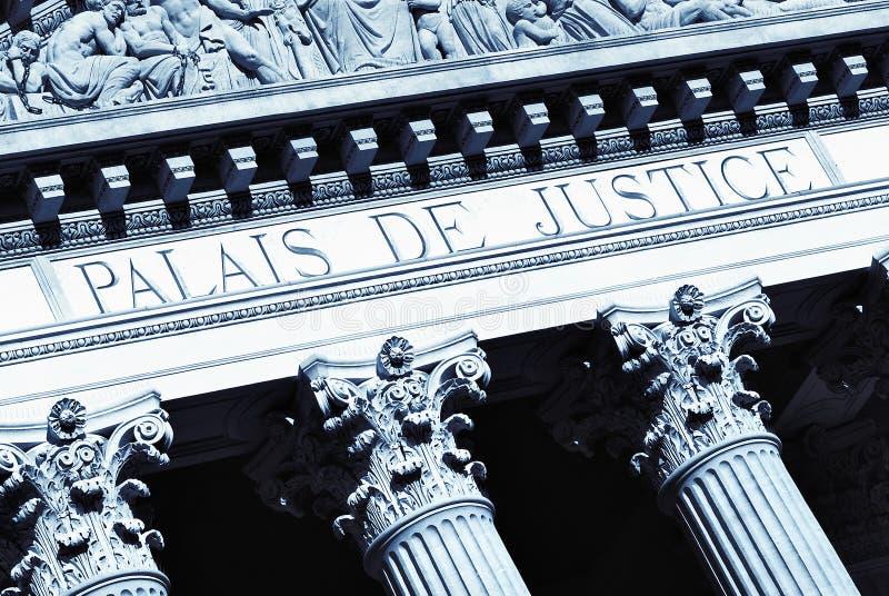 Corridoio della giustizia fotografie stock