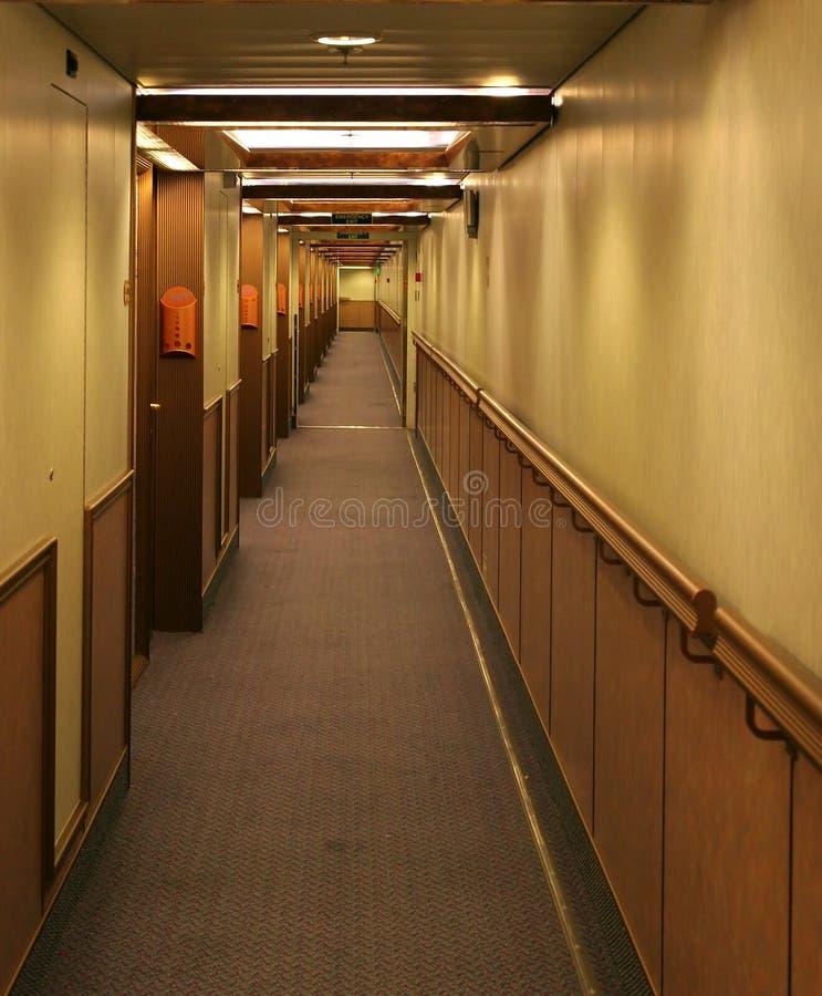 Corridoio delle navi fotografia stock