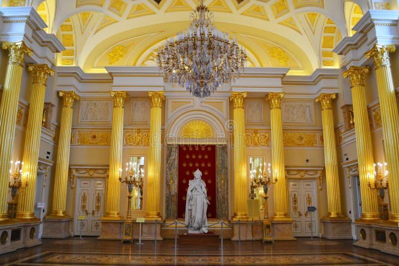Corridoio di Catherine in Tsaritsino fotografia stock libera da diritti