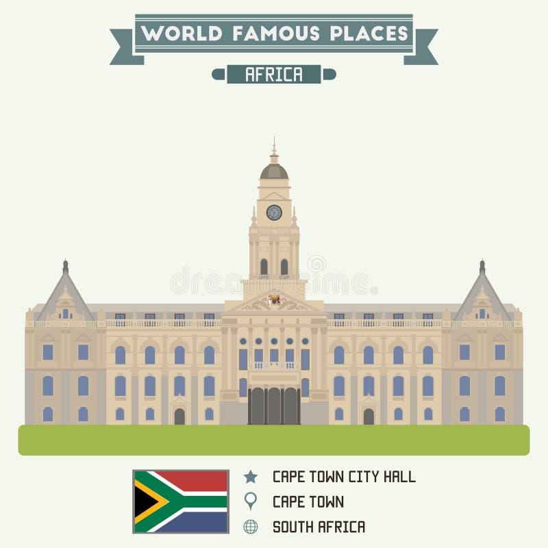 Corridoio di città Città del Capo royalty illustrazione gratis