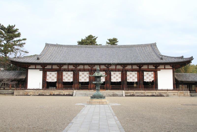 Corridoio di conferenza del ji di Horyu a Nara immagine stock libera da diritti