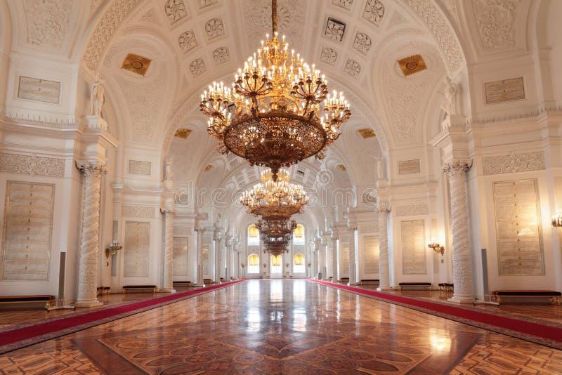 Corridoio di Georgievsky fotografie stock libere da diritti