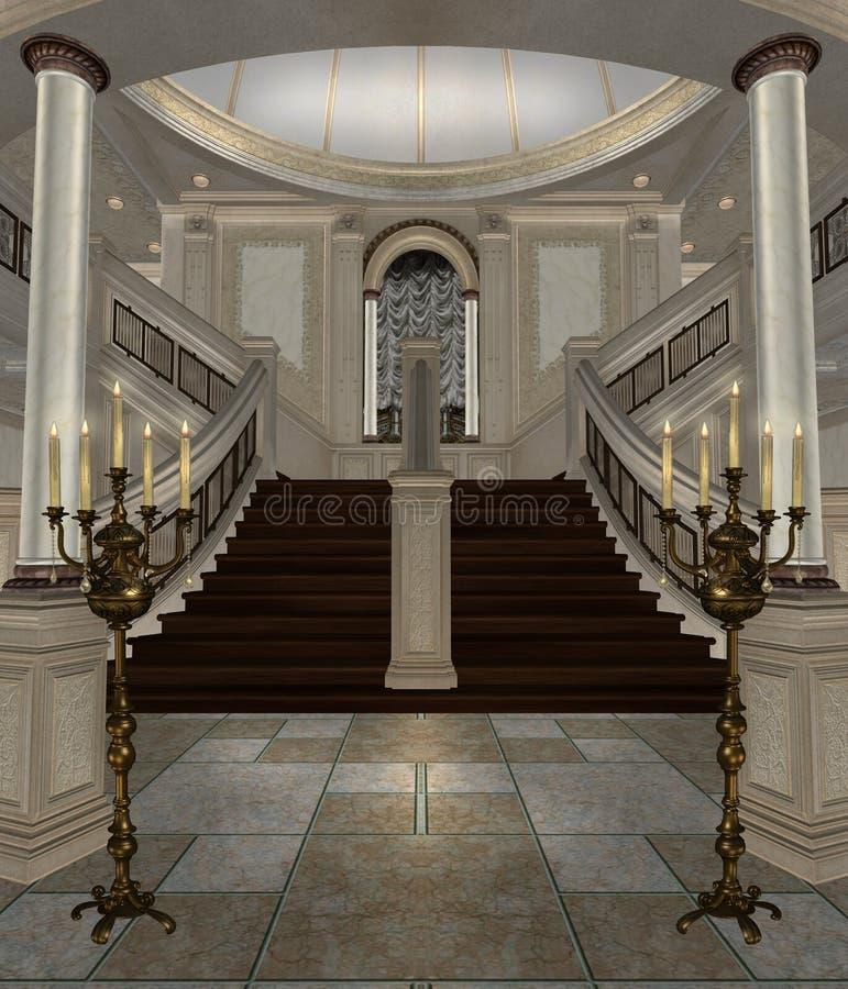 Corridoio di lusso 1 royalty illustrazione gratis