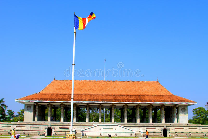 Corridoio di memoria di indipendenza di Colombo fotografia stock libera da diritti