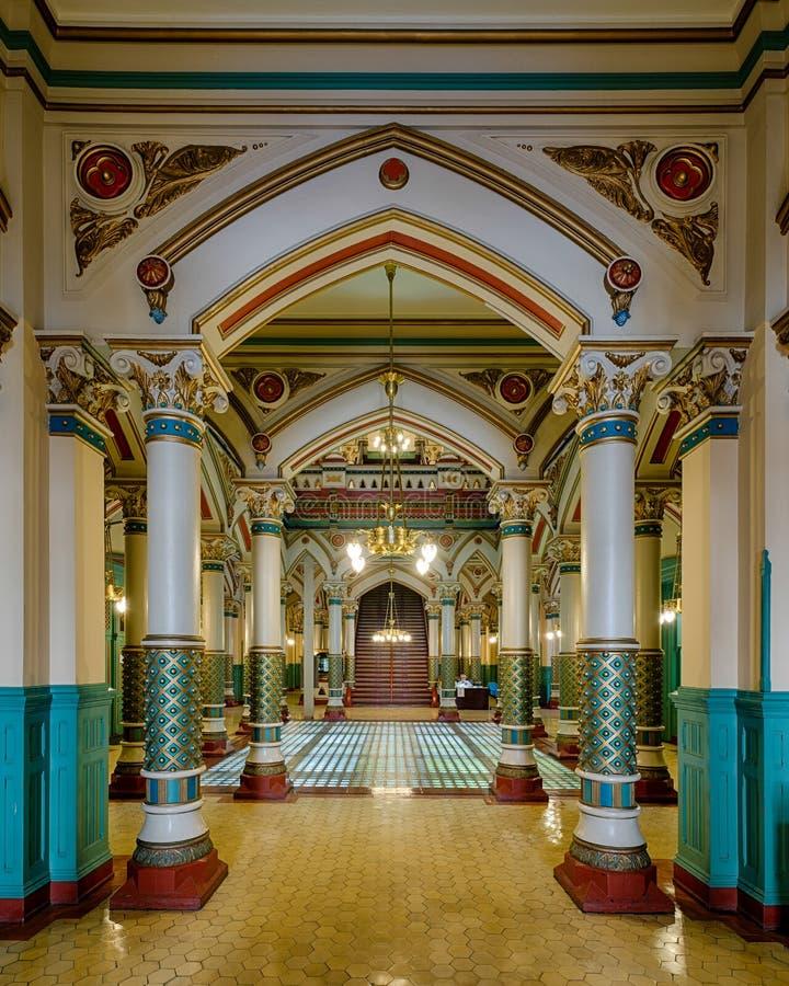 Corridoio di Richmond Old City Hall fotografia stock libera da diritti