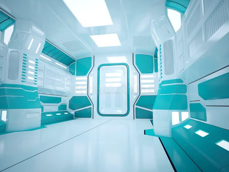 Corridoio futuristico di Sci fi immagine stock libera da diritti