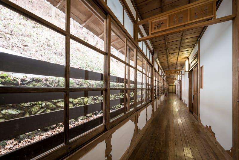 Corridoio giapponese immagine stock