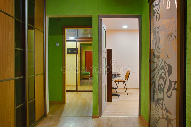 Corridoio interno immagine stock