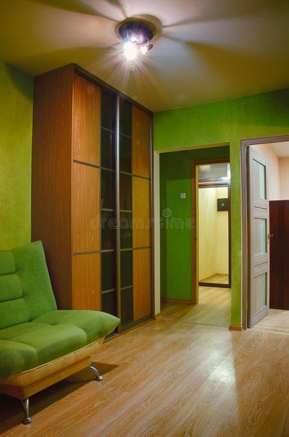 Corridoio interno fotografie stock