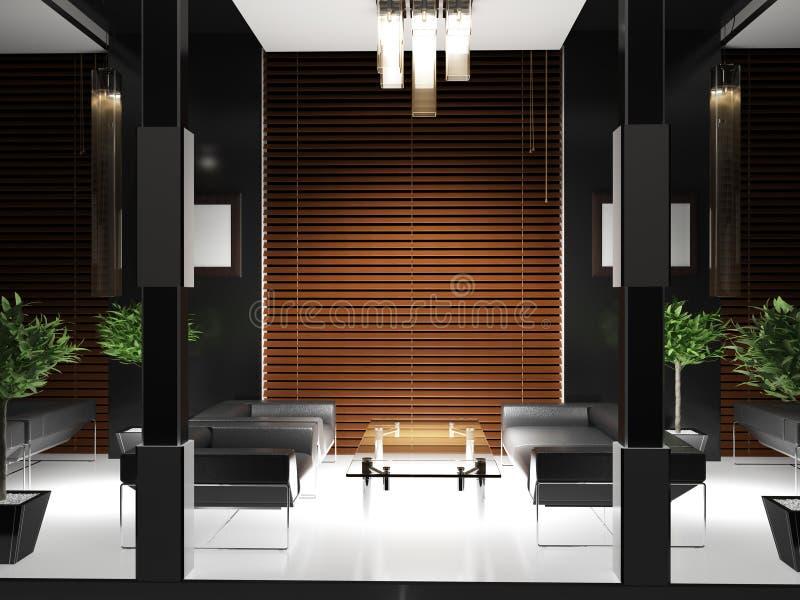 Corridoio interno royalty illustrazione gratis