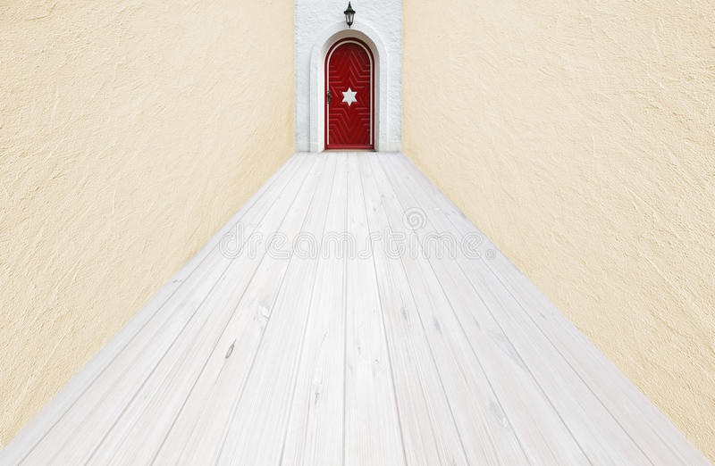 Corridoio leggero all'interno royalty illustrazione gratis