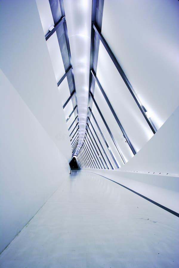 Corridoio moderno del terzo ponticello di Milenion immagine stock libera da diritti