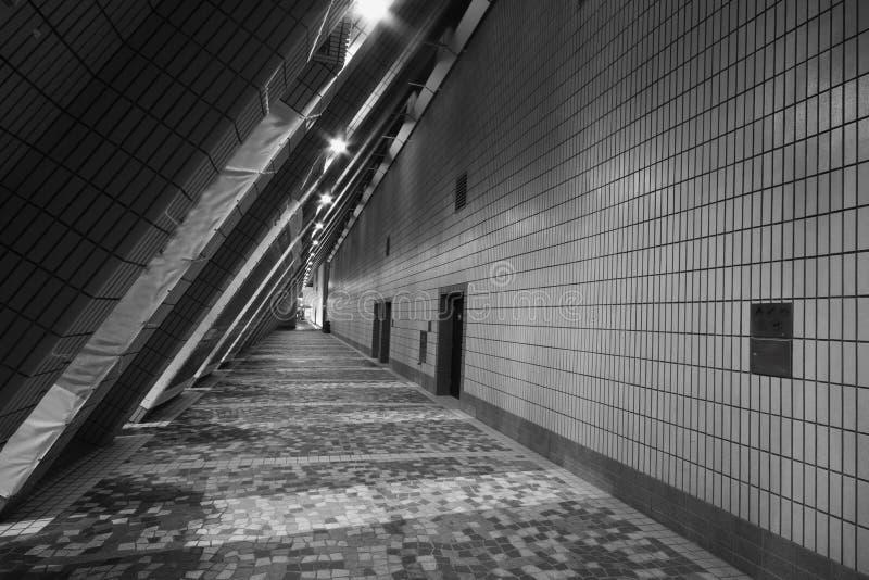 Corridoio moderno a Hong Kong immagini stock