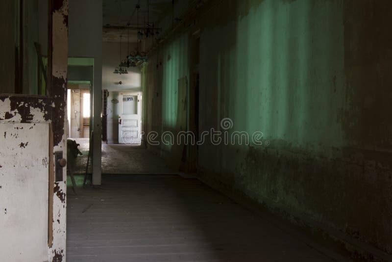 Corridoio verde immagine stock libera da diritti