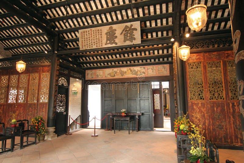 Corridoio vivente della Camera del mandarino fotografia stock