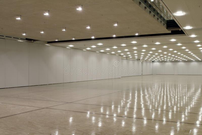 corridoio vuoto di affari fotografia stock libera da diritti