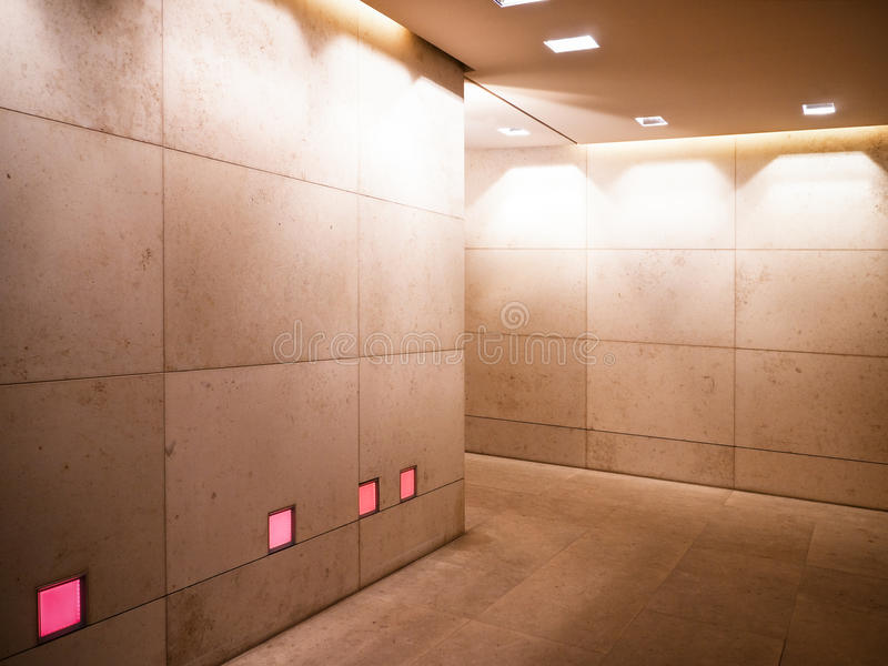 Download Corridor stock image. Image of indoors, empty, sparse - 28741831
