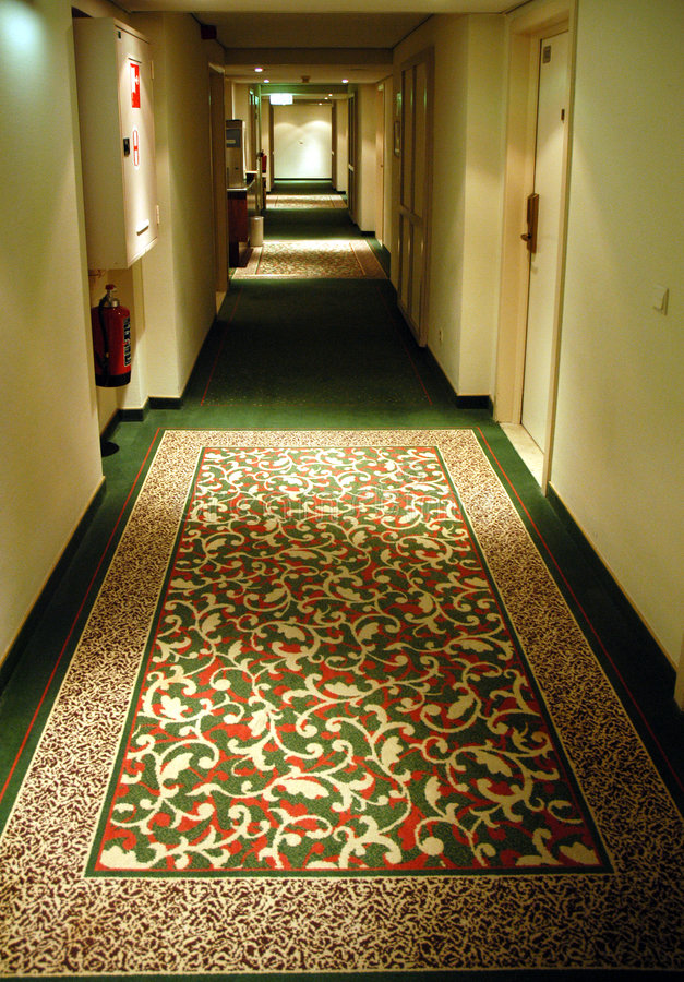 Corridor - Brussels royalty free stock photography