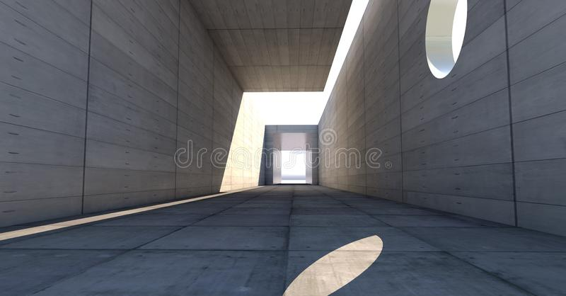 Corridor of Building stock images