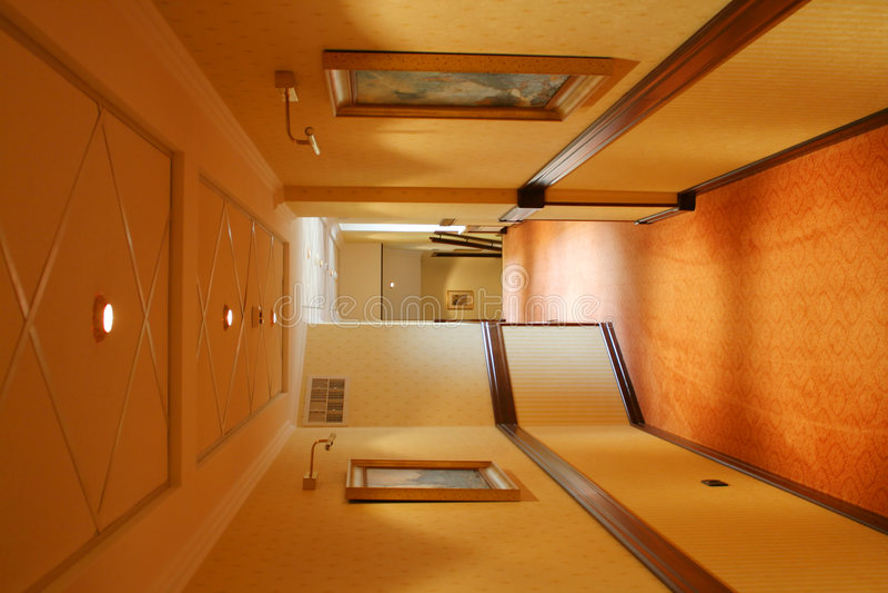 corridor hotel στοκ φωτογραφία με δικαίωμα ελεύθερης χρήσης