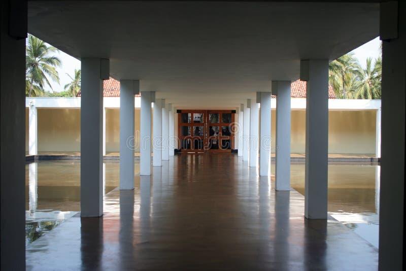 Corridor hotel royalty free stock photography