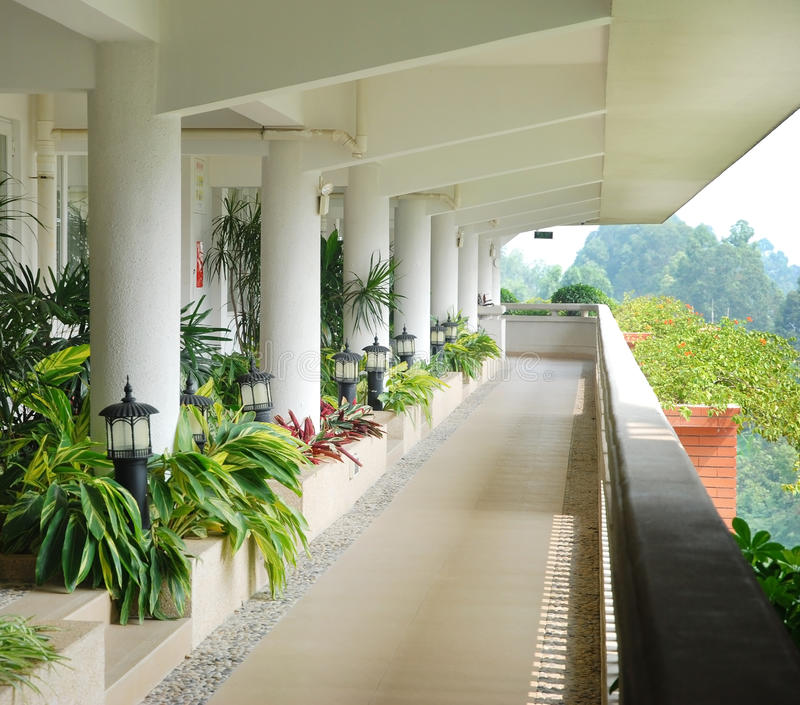 Download Corridor In The Hotel Royalty Free Stock Image - Image: 22831146