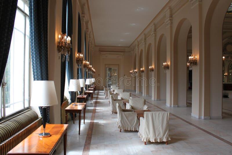 Download Corridor interior stock image. Image of colonnade, decor - 21865409