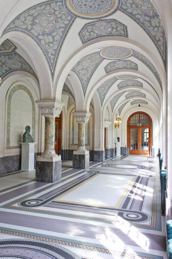 Download Corridor Of The Peace Palace, The Hague Royalty Free Stock Photo - Image: 20766345