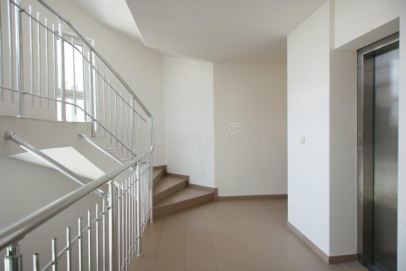 Download Corridor stock photo. Image of floor, railing, aluminum - 32412194