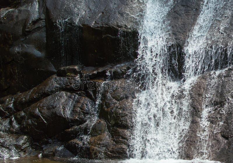 Corrientes en el Rock& x27; superficie de s fotografía de archivo libre de regalías