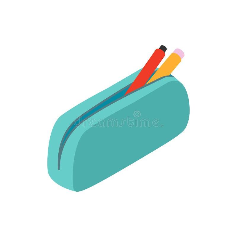 Corrija o ícone do caso, estilo 3d isométrico ilustração do vetor