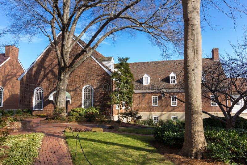Corrin Hall bei Salem College stockbild