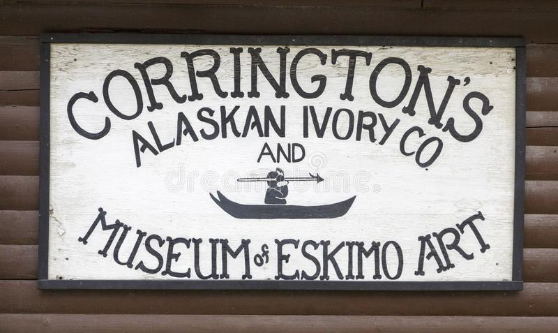 Corringtons Alaskan Ivory royalty free stock images