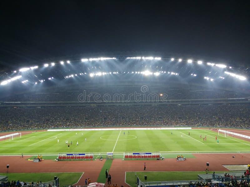 Corrispondenza di calcio fotografia stock libera da diritti