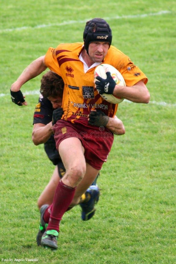 Corrispondenza Di Rugby Fotografia Editoriale