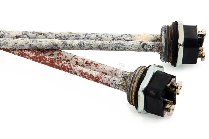 Corroded Pipes Stock Images