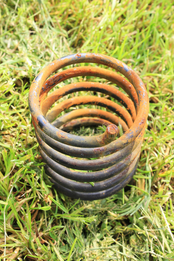 Download Corroded spring stock photo. Image of nature, garbage - 39501834