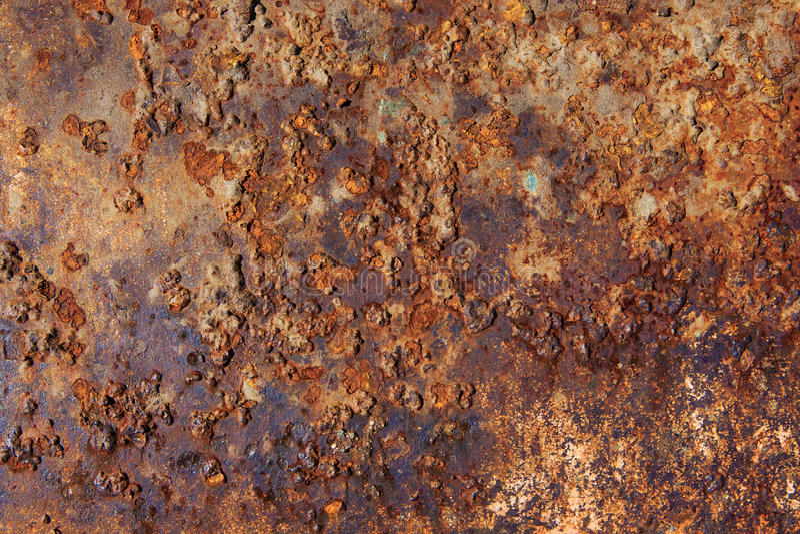 Corrosión de la textura del metal fotografía de archivo