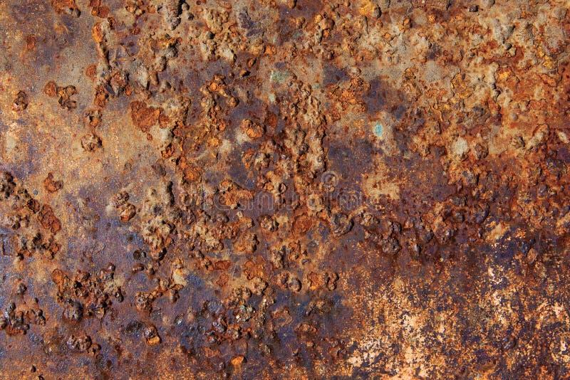 Corrosie van metaaltextuur stock fotografie