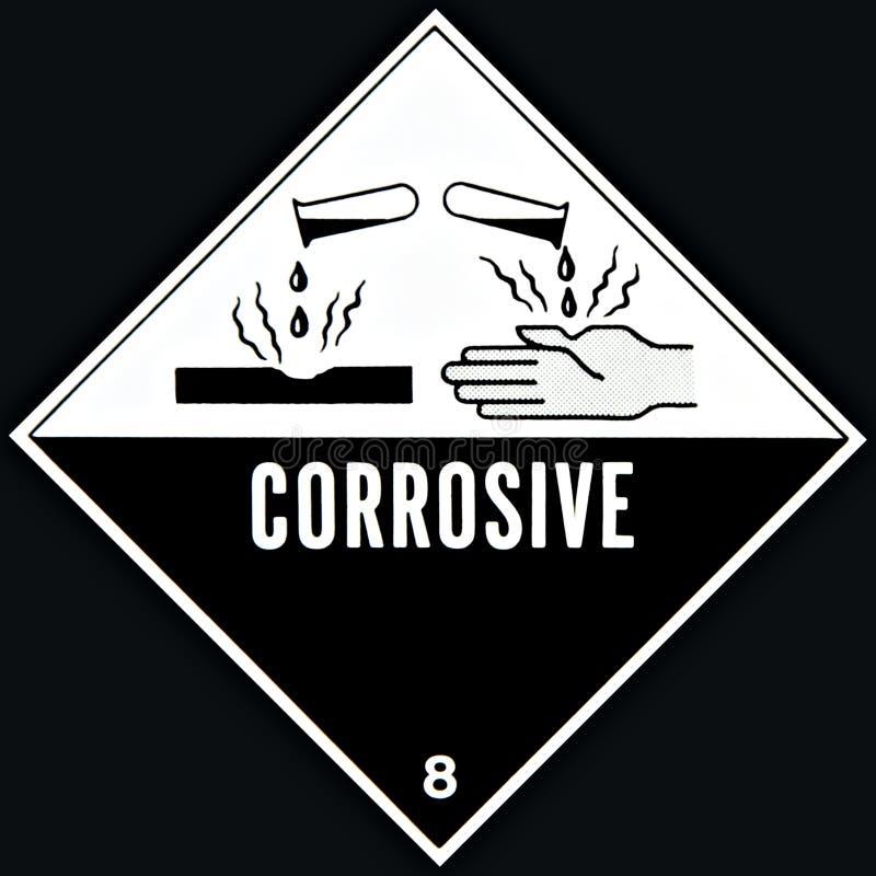 Corrosief Teken royalty-vrije stock fotografie