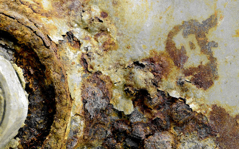 Corrosion images stock