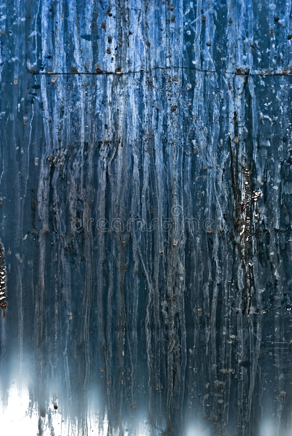 Download Corrosive Wall stock image. Image of drip, metal, blue - 6935533