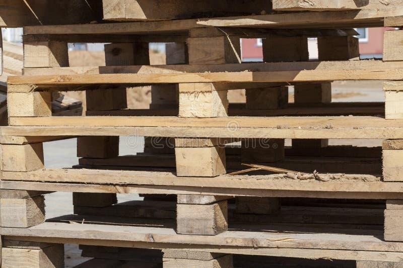 corrugación de madera para los materiales de construcción fotografía de archivo