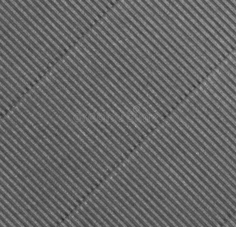Corrugaciones diagonales grises imagen de archivo libre de regalías