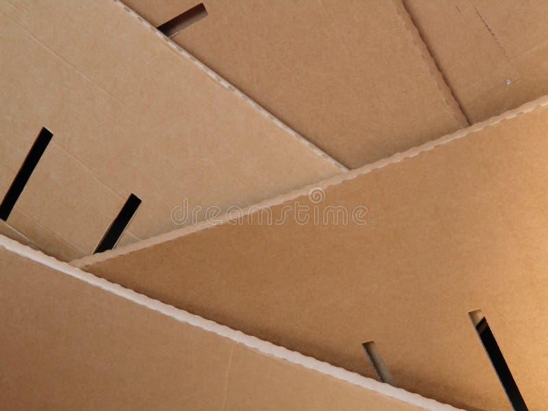 Download Corrugated cardboard stock photo. Image of board, brown - 24217664