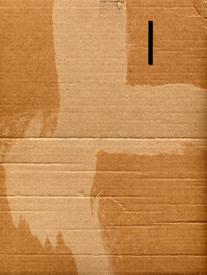 Download Corrugated cardboard stock image. Image of blank, surface - 26694145