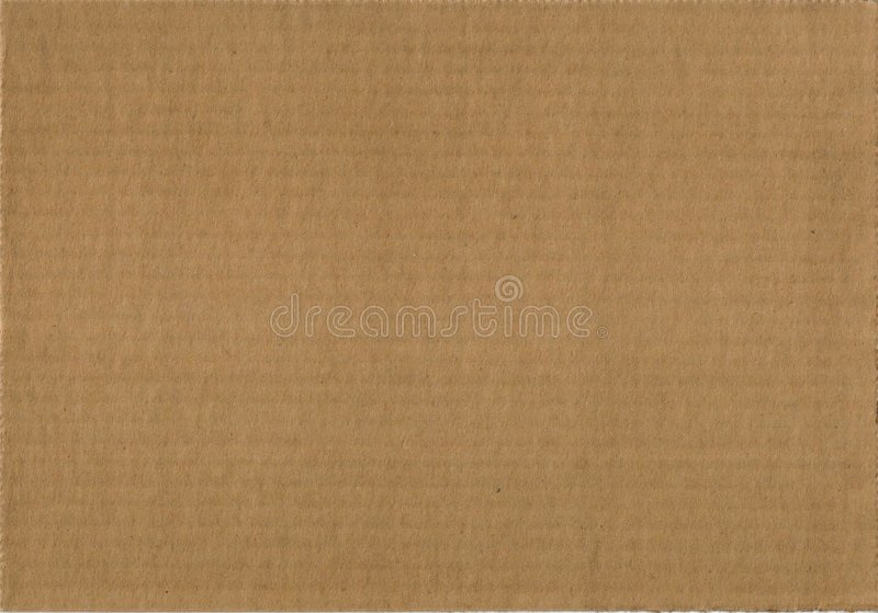 Corrugated Cardboards Royalty Free Stock Photo
