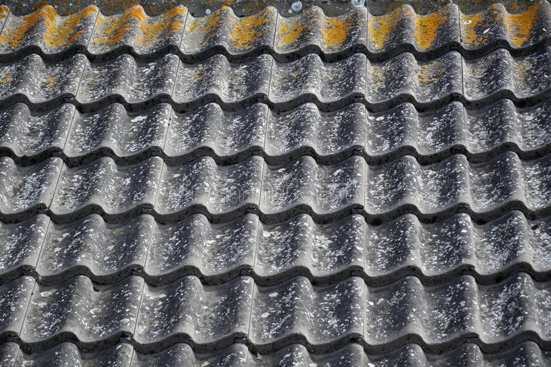 Download Corrugated Ceramic Roof Pattern Stock Photography - Image: 19675472