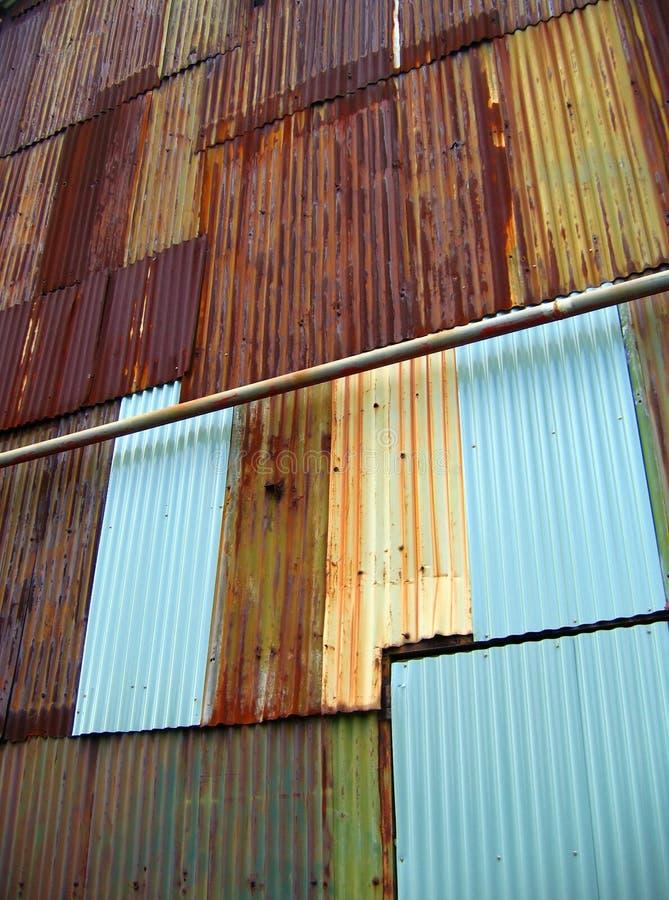 Corrugated Iron stock photography